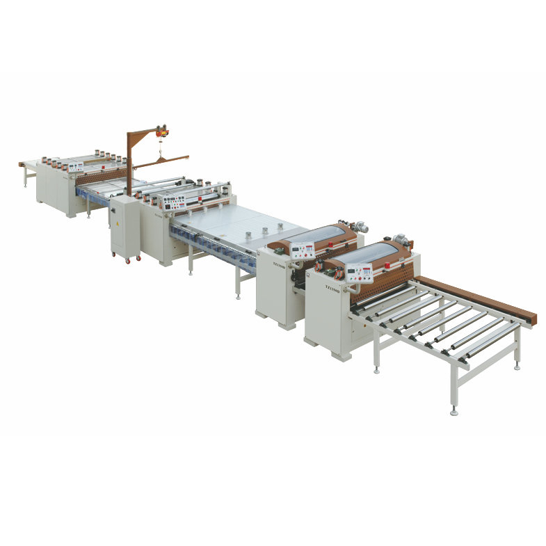 TZ1350D II 16m Paper PVC Sticking Production Line High Matching Type